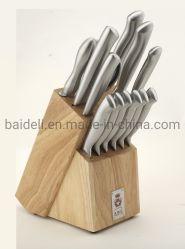 14ПК полую ручку кухонные ножи для Houseware