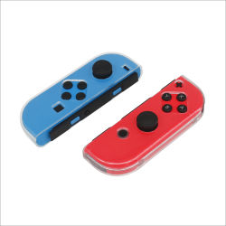 Crystal Caso plástico Hard Shell para o Interruptor do Controlador Joy-Con