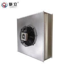 Acondicionador de aire de agua de refrigeración intercambiador de calor al aire del radiador con ventilador