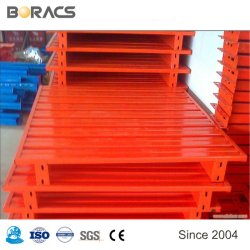 Palletfabrikant Custom Single Faced Heavy Duty Warehouse vorkheftruck Staal Metalen vergalvaniseerde goederen Euro Pallet te koop
