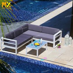 方法Factory Sale著アルミニウムフレームの構造が付いている屋外のソファーの家具