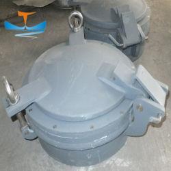Ottone/oblò marini fissi ovali rotondi di alluminio per la nave