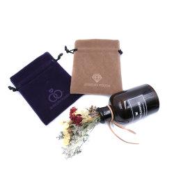 Jewell sac/pochette/Boîte, Sac de rangement en microfibre douce avec le logo de l'impression (DH-M0090)
