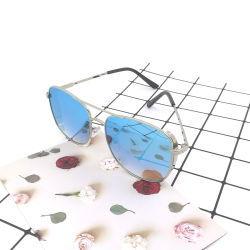 2020nuevo espejo de metal de Gafas Anteojos polarizados gafas de sol Gafas de moda de mujer gafas de sol para Unisex