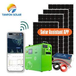 Portable 300W 500W 1kw 2kw 3kw Générateur Inverter Système Solaire Énergie solaire Énergie Système d'éclairage d'accueil