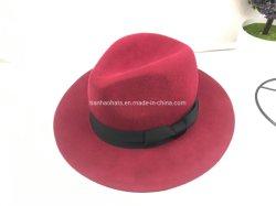 La mode chapeaux de feutre de laine Fedora pour les femmes et l'homme Commerce de gros