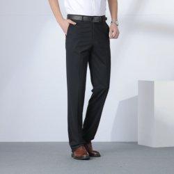 Оптовая торговля на заводе нового дизайна моды одежды хлопка мужчин бизнес официальных Leggings штаны Ripped растянуть на складе брюки высокого качества