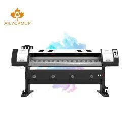 De 48 pulgadas de gran formato de doble cara de la impresora solvente Eco XP600 Impresora Ecológica de PVC de 1,8 m de los precios de Bangladesh