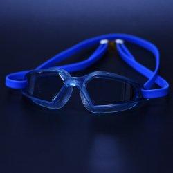 Silikon-Brücke TPE Über-Formteil grosse Objektiv-erwachsene Kind-Antinebel-Schwimmen-Gläser, die Schutzbrille schwimmen