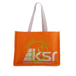 耐久性の高い食料品エコロジー再利用可能バックパック、不織布キャリアバッグ