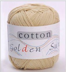 크로셰 뜨개질 스카프를 위한 뜨개질을 하는 스레드 면 스레드 크로셰 뜨개질
