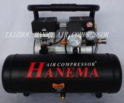 AC двойной поршень Silent одноступенчатые безмасляные электродвигатель компрессора/безмасляный насос воздушного компрессора/безмасляные головки воздушного компрессора