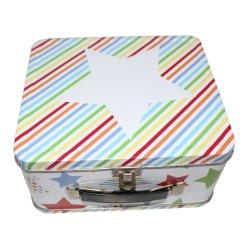 تصميم جديد صديق للبيئة التغليف المعادن صندوق التبريد المعدنية صندوق الطين صندوق مع مقبض