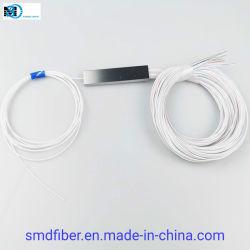 Оптоволоконный PLC разветвитель стальной трубы кабель 1*16 вставить
