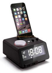 Shenone Hotel Mobile Alarm Clock Radio 도킹 스테이션(블루 포함) 투스 스피커