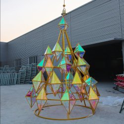 Decorazioni Giganti grandi per alberi di Natale DA 60 piedi per uso all'aperto