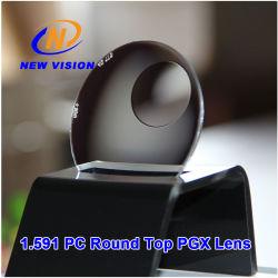 عدسة Pgx Opitcal ذات الجزء العلوي المستدير من البولي كربونات 1.591