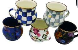 La vaisselle fine de haute qualité à la main de l'émail tasse de thé, des cadeaux personnalisés, Top-Grade tasse à café