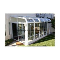 Toit en verre feuilleté de design de luxe Sunshine House, Sun chambre, décoratif Backyard chambre