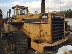 Usado Komatsu Wa600 carregadora de rodas com todo o sistema de transmissão hidráulico em bom estado