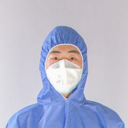 السلامة الصناعية الملابس الخارجية مضاد للماء SMS غير منسوجة قاعات يمكن التخلص منها