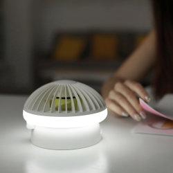 Table multifonctionnelle lumière Ventilateur Portable Mini ventilateur de bureau