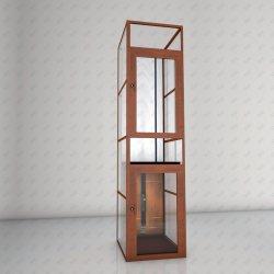 Vertical Disable anziani piattaforma ascensore Casa idraulica Villa sedia a rotelle Ascensore panoramico panoramico panoramico con vetro panoramico per osservazione passeggeri