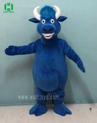 青Bullのプラシ天のマスコットの衣裳の衣類のイベントのマンガのキャラクタの衣服