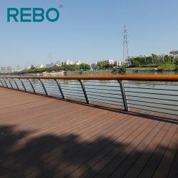 Coupe-feu de bois carbonisé Bamboo Outdoor Deck Flooring