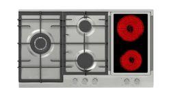 3ガス2の陶磁器の炊事道具で構築される