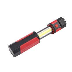 LED 작업등, 마그네틱 베이스가 있는 COB 작업등 및 3가지 모드 Bright LED Flashlight 검사 조명(차량 수리, 가정용