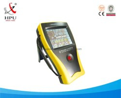 器械の三相携帯用試験装置を実地にテストするエネルギーメートル