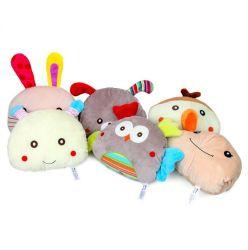 Personalisierte Cartoon Tierkissen Super Soft Plüsch 2-in-1-Kissen und Handwärmer für Babys