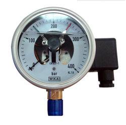 4inch-100mm halbes SS elektrisches Kontakt-Öl - gefüllter Druckanzeiger B86-Yb150A