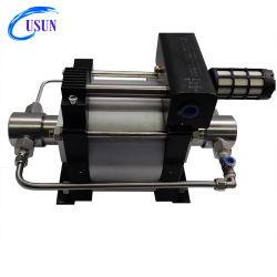 최신 품목 모형: 두 배 실린더 테스트를 위한 작동 압축 공기를 넣은 몬 수압 시험 펌프에