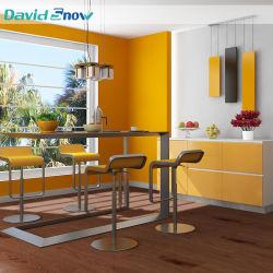Plancher de la cuisine de tuiles de vinyle modèle en bois des revêtements de sol pour le résidentiel