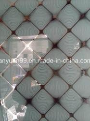 L'acido ha inciso il vetro con il vetro di vetro di Tianium del fiore del ghiaccio