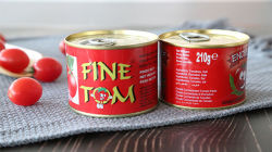 210 gramas de tomate em lata de tomate concentrado duplo do fabricante
