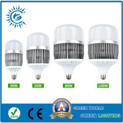 Commerce de gros d'éclairage LED 100W avec l'aluminium plastique PBT
