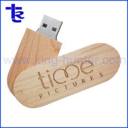 Memory Stick™ USB en bois pour cadeau de mariage peut graver votre logo