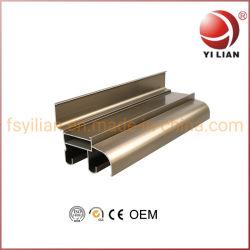 Projetos personalizados Material de Construção de perfil de alumínio anodizado de extrusão de alumínio