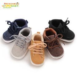 تصميم جديد PU الركض أحذية رياضية جلدية للأطفال الصغار أحذية الأطفال الصغار