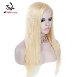 سعر الجملة Lace الجبهة wig 613 بلوند على التوالي البرازيلي الإنسان شعر مستعار