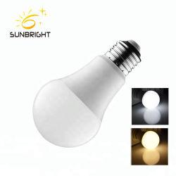 La Chine fournisseur ampoule de feu à bon marché CFL SKD E27 B22 7W 18W 12W 9W Lampe LED de pièces en aluminium de matières premières pour l'assemblage