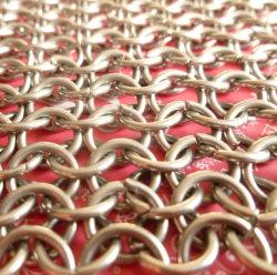Декоративные проволочной сетке душ шторки Gold сетка из нержавеющей стали