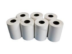 55g Caja Registradora de recepción térmica Papel para impresora de papel de recepción POS POS 57mm*30mm/40mm/50mm y 79mm*50mm/60mm/70mm/80mm