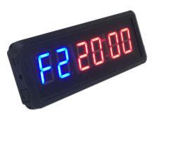 1,5 pouces à 6 chiffres de contrôle à distance Salle de gym conduit Interval Timer