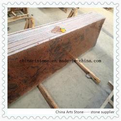 Китай классический многоцветный красной гранитной плиты для столешницами и плитки