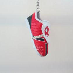 Touche personnalisée Tag, charmant Chaussure de soccer pour les souvenirs de chaîne de clé