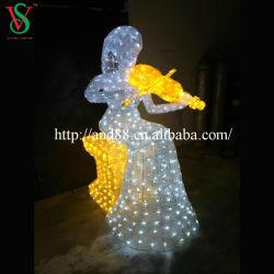 LED das luzes de Natal Anjo para Decoração de Natal